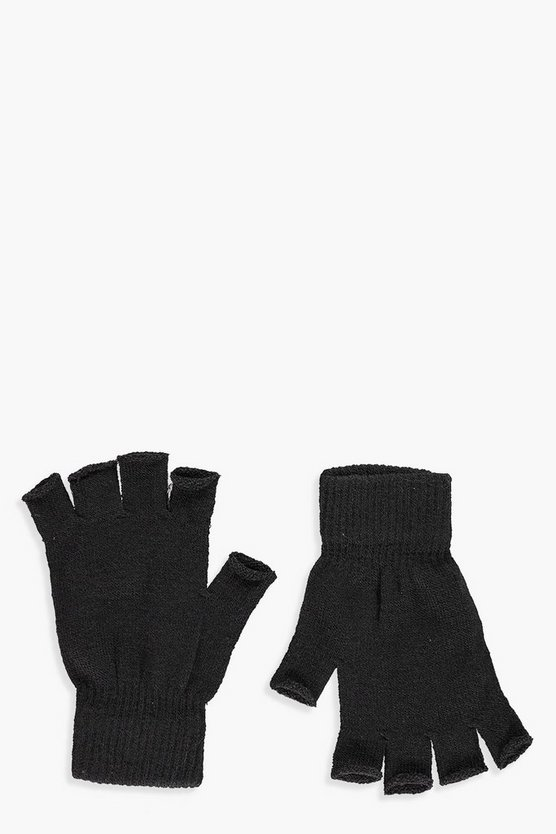 Georgia Fingerless Knitted Gloves