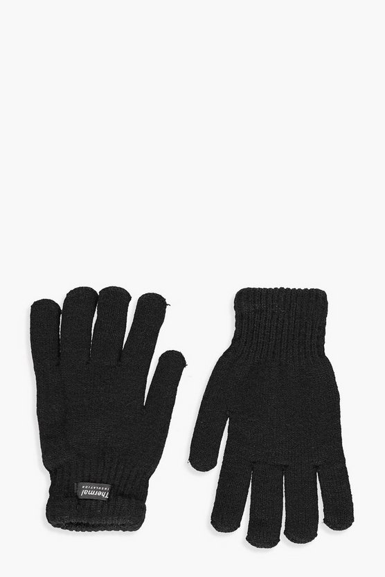 Kelly Fleece Lined Thermal Knitted Gloves