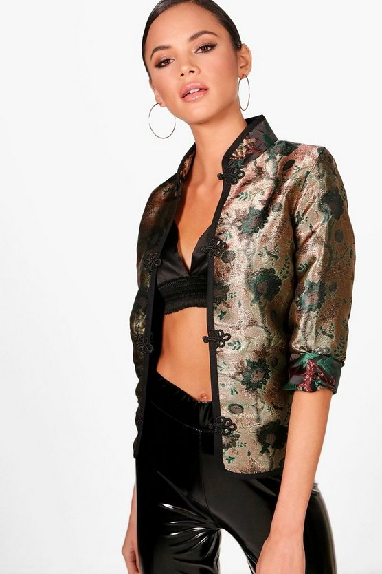 Metallic Oriental Jacket