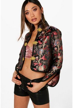 Oriental Trophy Jacket, Black, FEMMES