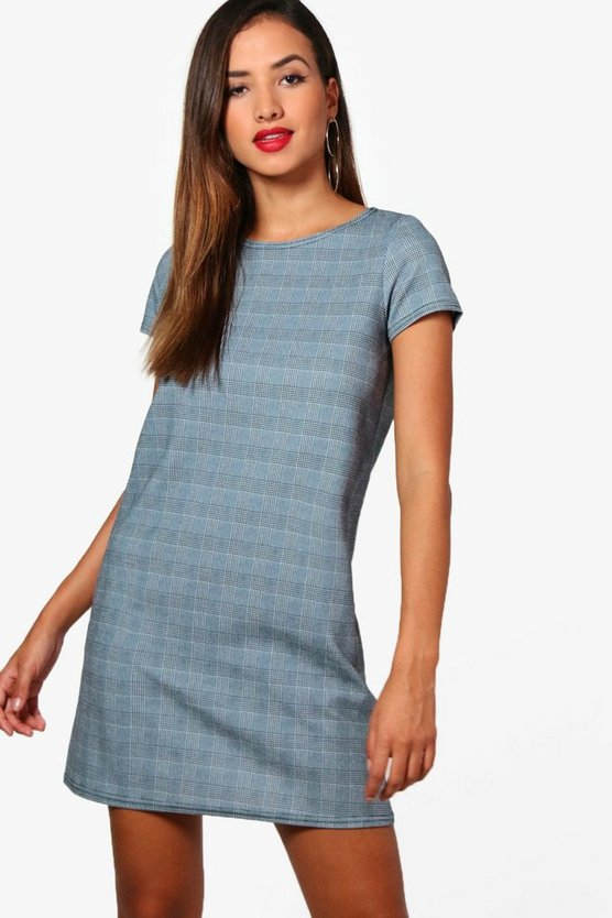 Alice Check Shift Dress