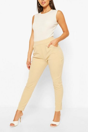 Stone Pleat Front Trouser