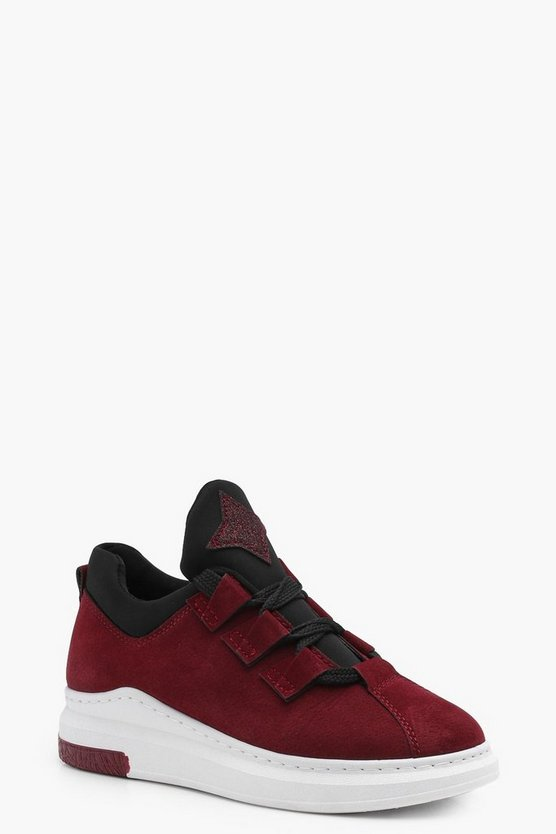 Tegan Chunky Sole Lace Up Trainer