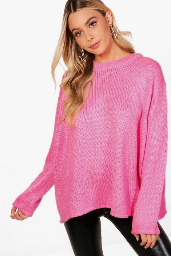 Olivia Wide Sleeve Oversized Jumper