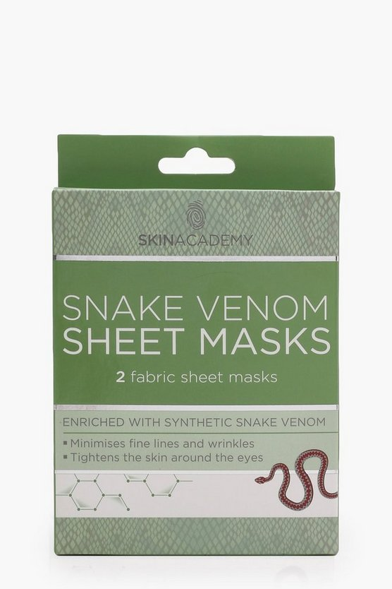 Snake Venom Face Mask
