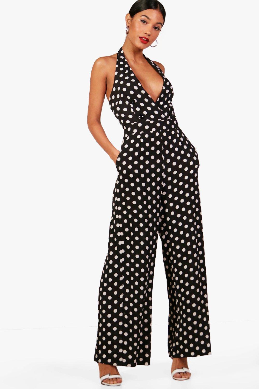 About still polka dot jumpsuit not