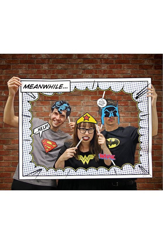 Comic Photo Booth