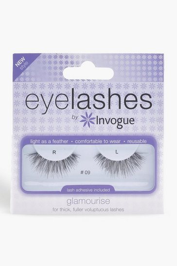 Womens Black Invogue Glamourise Fuller Lashes