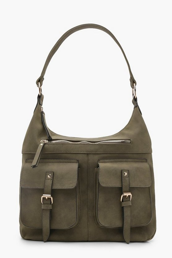 Pockets Shoulder Bag