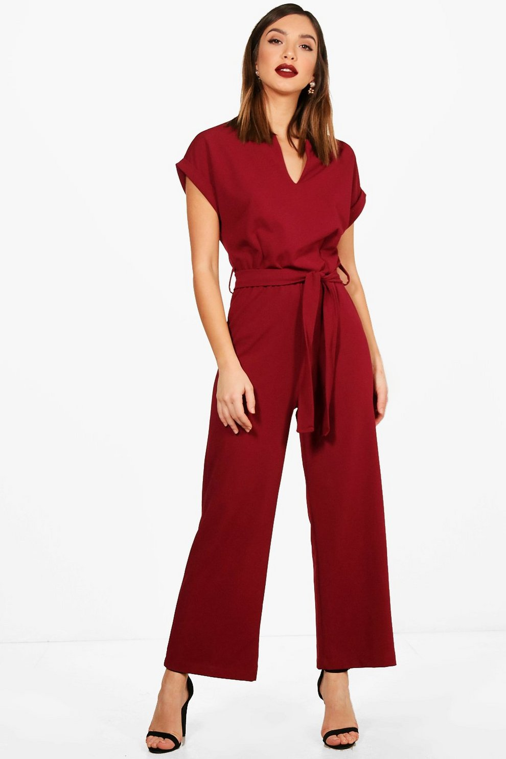 a1f38064495 Tailored Wide Leg Jumpsuit
