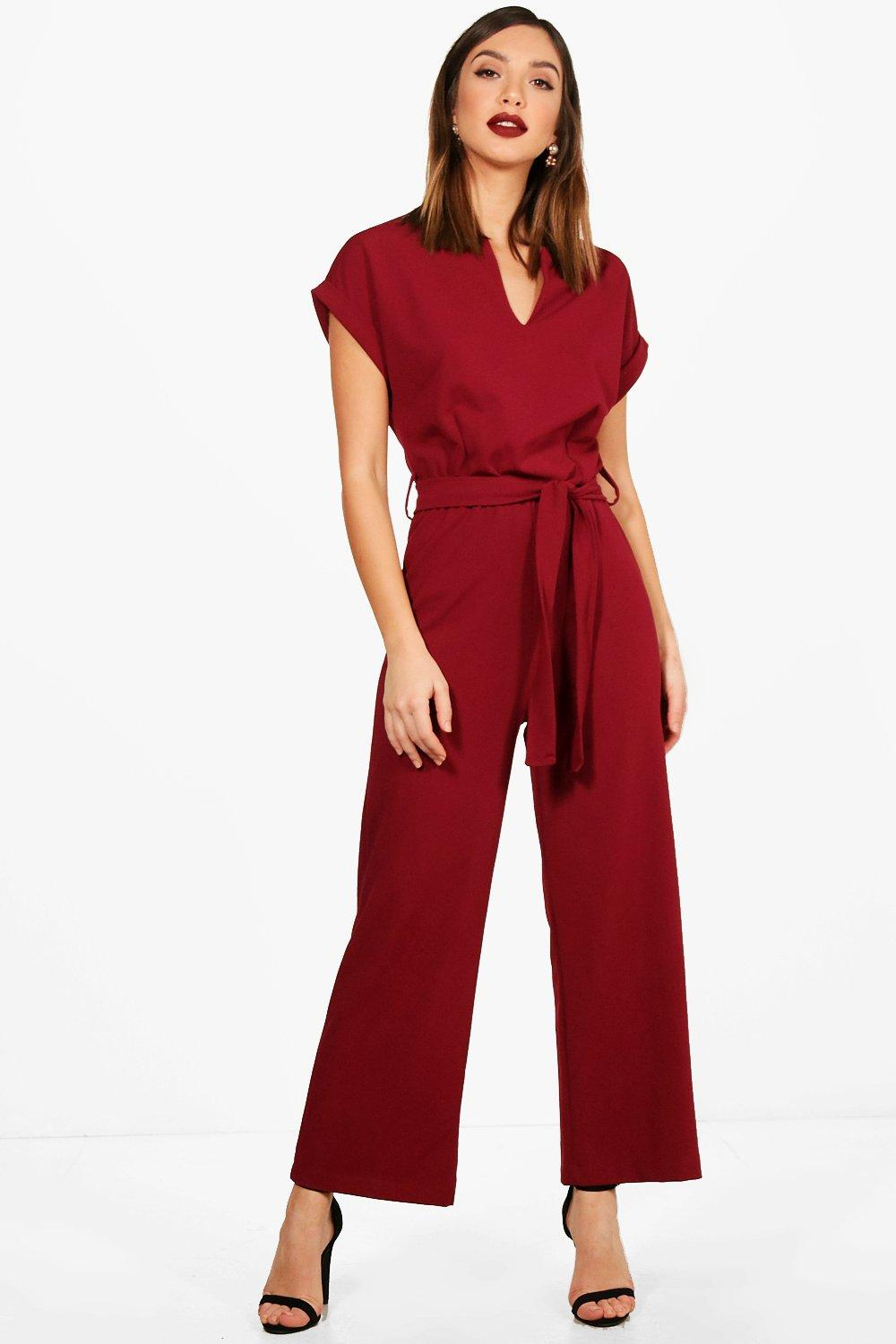 52be0398f53c Tailored Wide Leg Jumpsuit. Hover to zoom