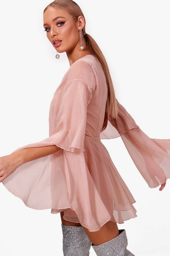 Floaty Chiffon Statement Playsuit