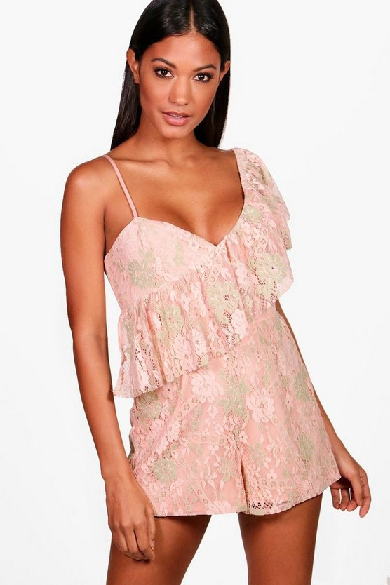 All Over Lace Playsuit