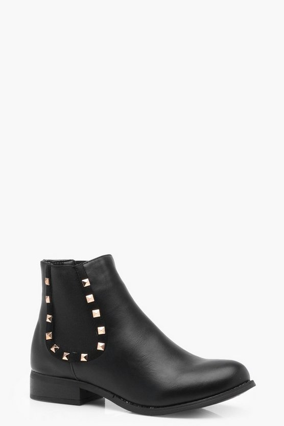 Tia Studded Chelsea Boot