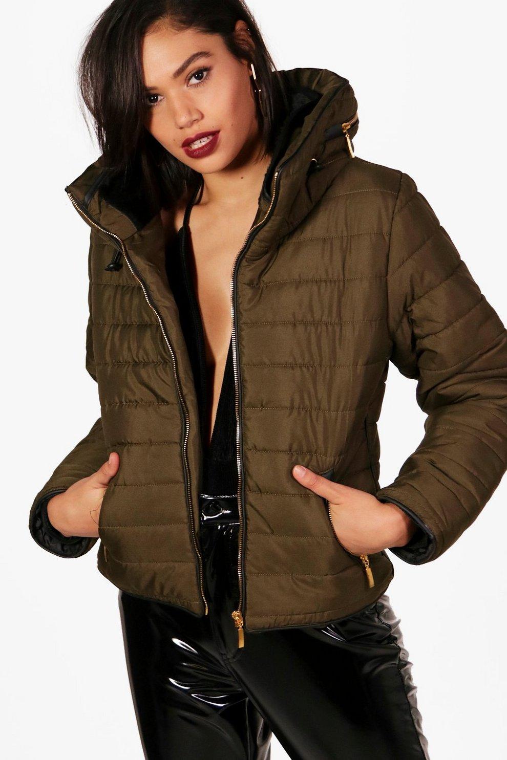 Bershka femme veste cuir