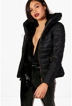 Dam Black Quilted Jacket
