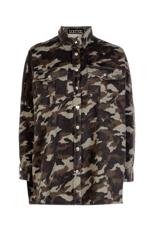 Oversize Oversize Oversize Shirt Denim Oversize Camo Camo Denim camo Shirt Denim Denim Shirt camo Camo Camo camo xgSPwA7g
