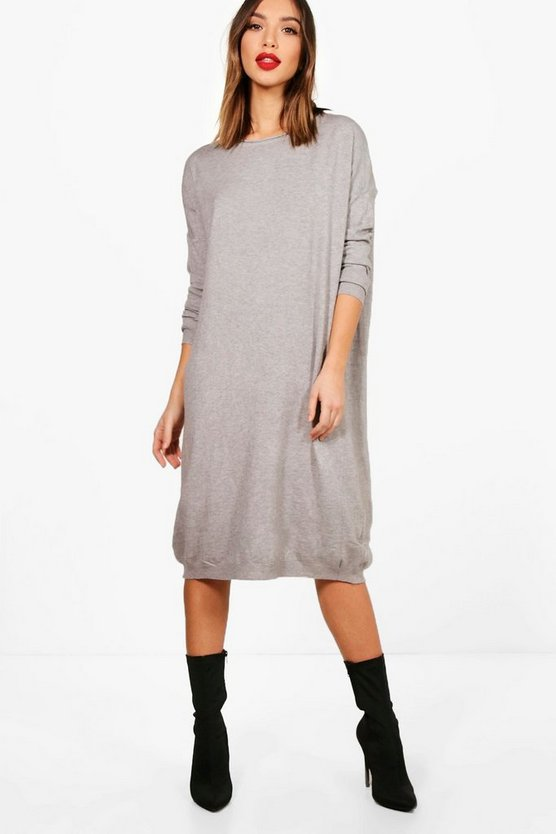 Charlie Oversized Knitted Midi Dress
