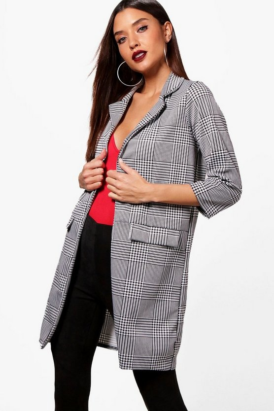 Amy Mono Check Jacket