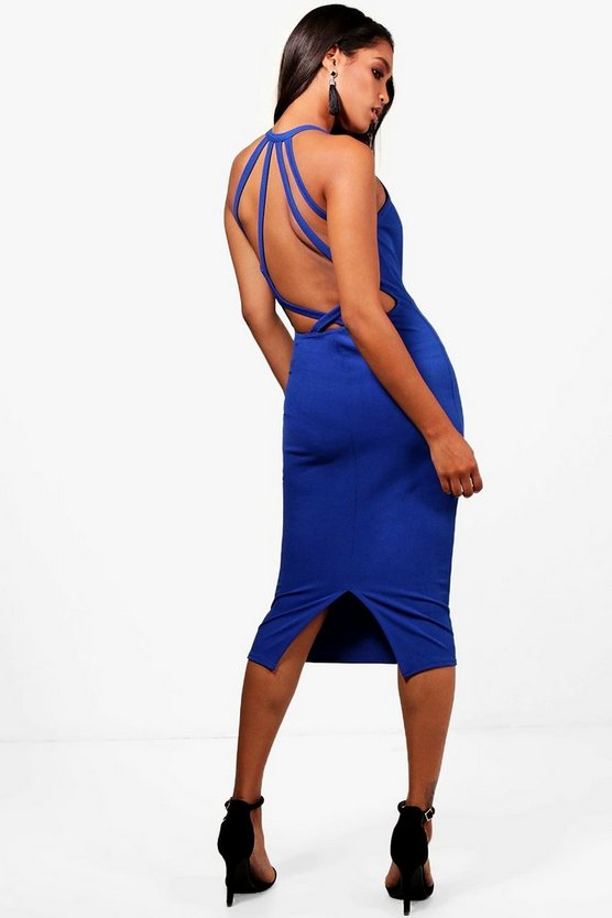 Anita Low Strappy Back Midi Dress