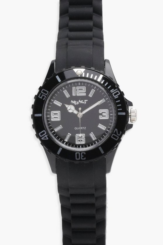 Sophia Rubber Strap Sports Watch