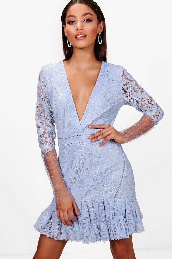 Boutique Stud and Lace Rara Dress