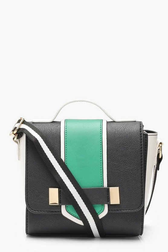 Emma Colour Block Cross Body Bag