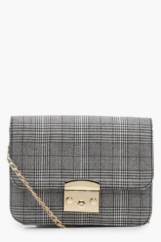 Ivy Checked Cross Body