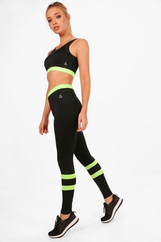 Fit High Waisted Legging & Sports Bra Set