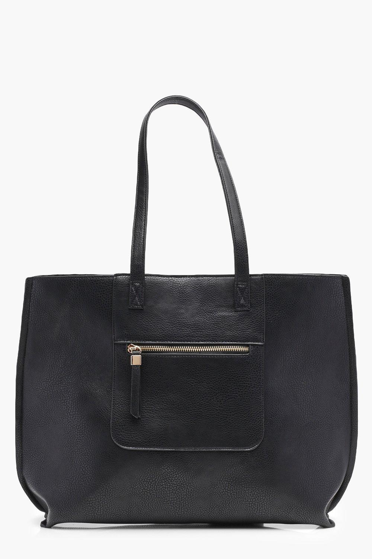 Zip Pocket Shopper Bag