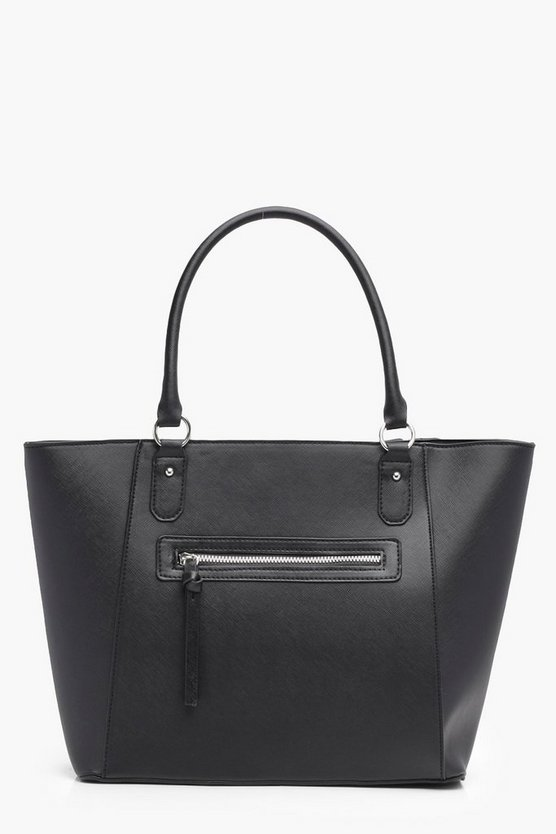 Lily Structured Crosshatch Tote