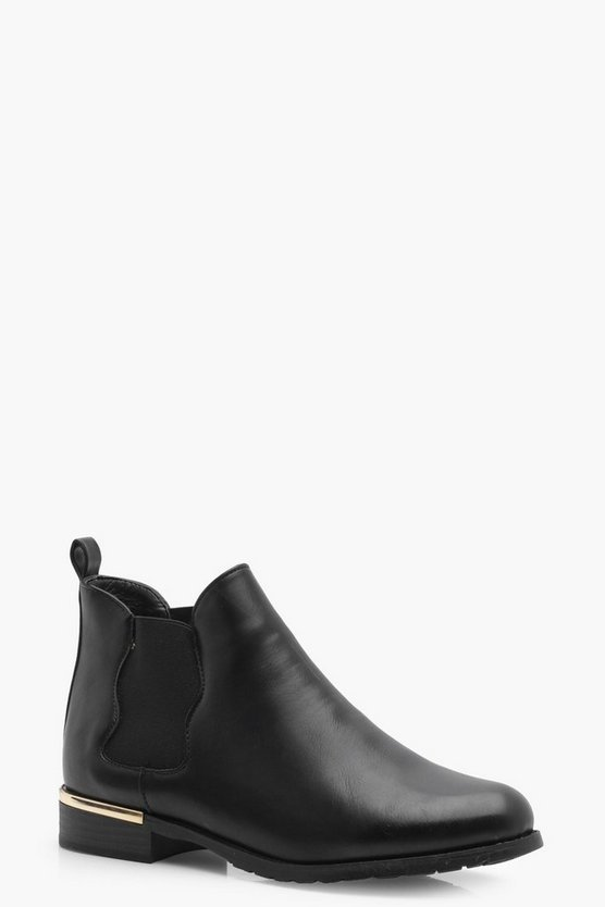 Lola Scallop Edge Chelsea Boot