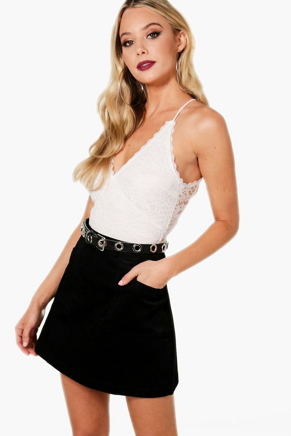 official price exceptional range of styles and colors ever popular Cord A Line Mini Skirt | Boohoo