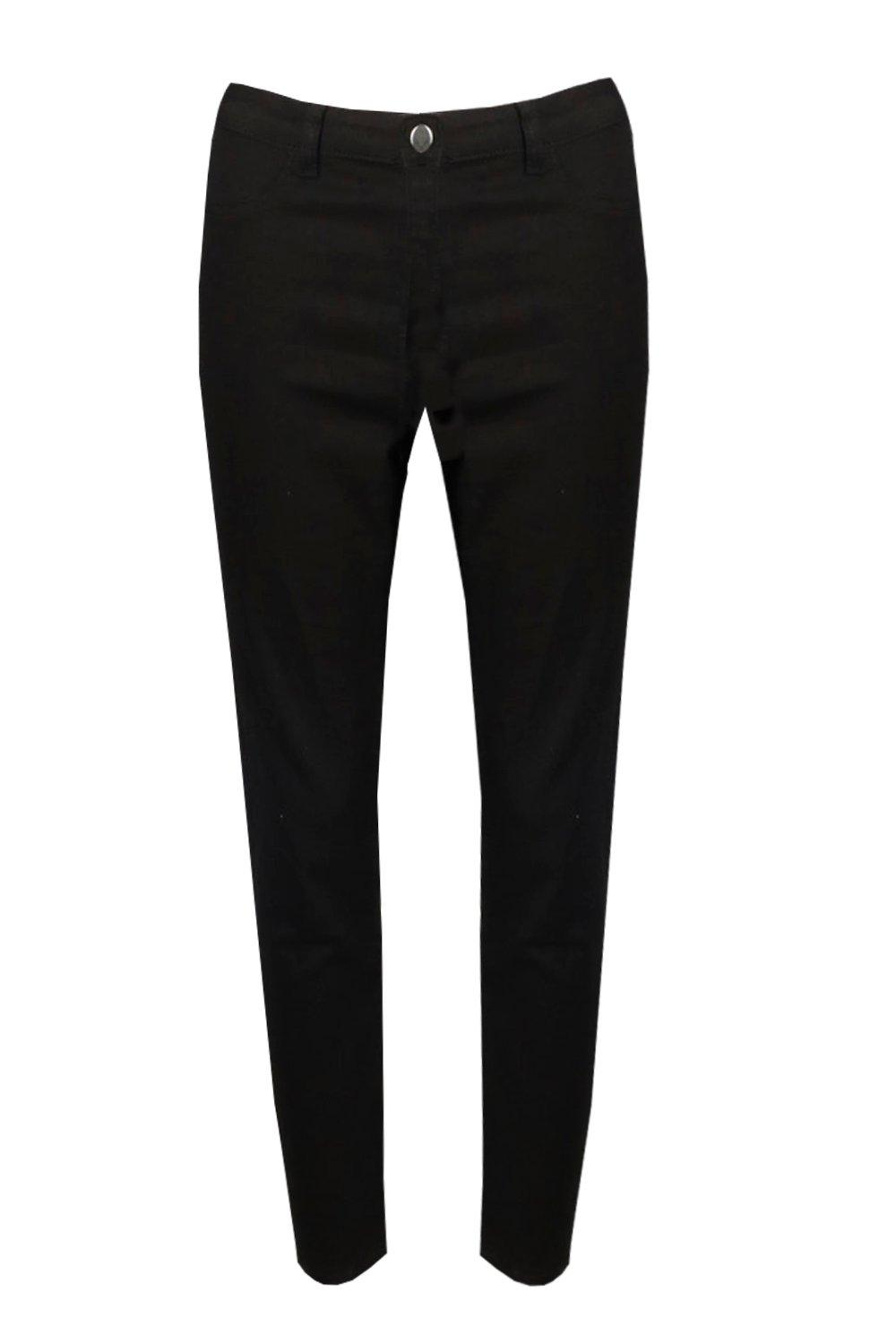 High black High Basic Jeggings Waisted Waisted 1XwxT1