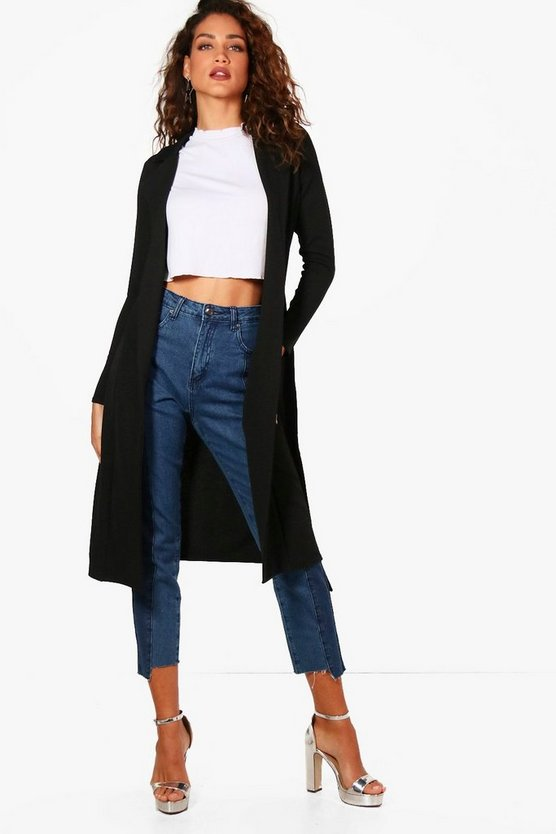 Jade Belted Duster