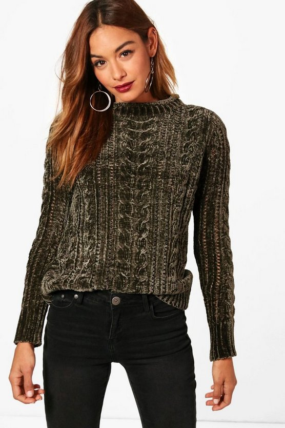 Amy Cable Chenille Jumper