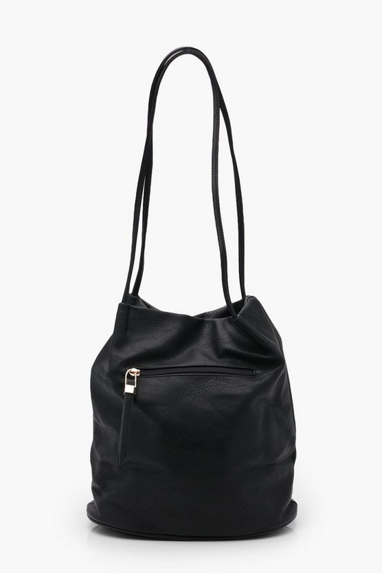 Millie Zip Window Shoulder Bag