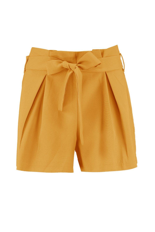 Shorts Tailored Tie Belt Smart Smart Tie Tailored Belt Shorts qaRPwF