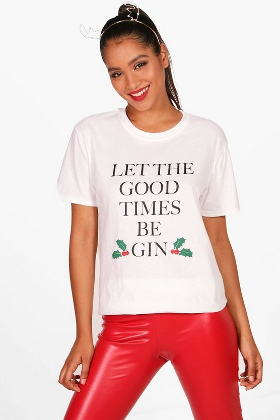 Melissa Let The Good Times Be Gin T-Shirt