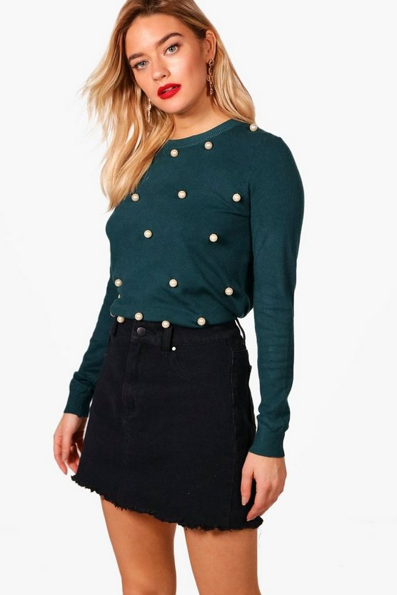 Annie Pearl Front Jumper