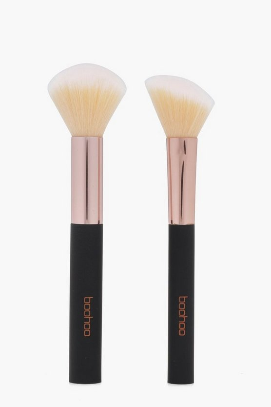 Boohoo Face And Blush Brush Duo Pack