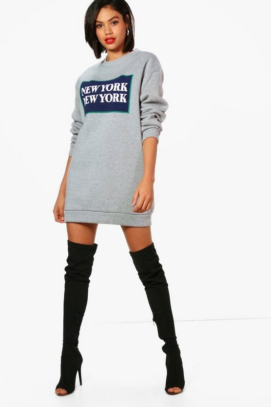 Natalia New York Sweat Dress