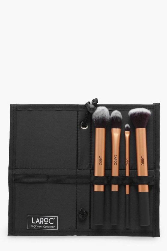 Professional Gold 4 Piece Brush Set