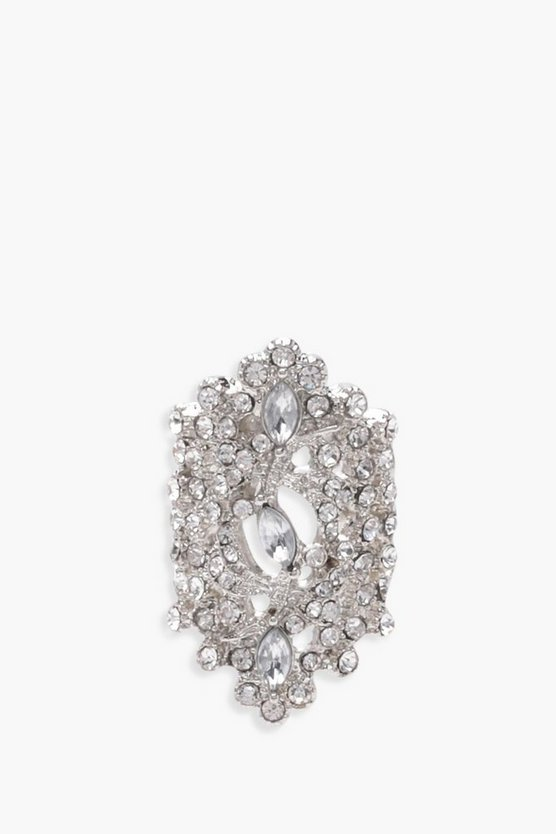 Diamante Statement Ring