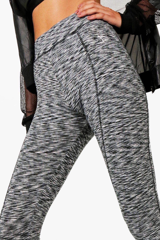 Spacedye Gris Ajustados contorno cintura con leggings alta wHxYq4BXx