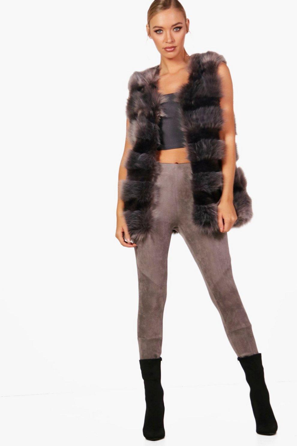 bcd52bce95daf Faux Fur Gilet