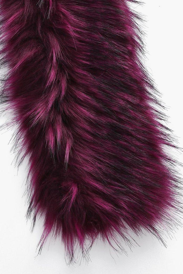 8b453a798 Ann Longline Faux Fur Scarf | Boohoo