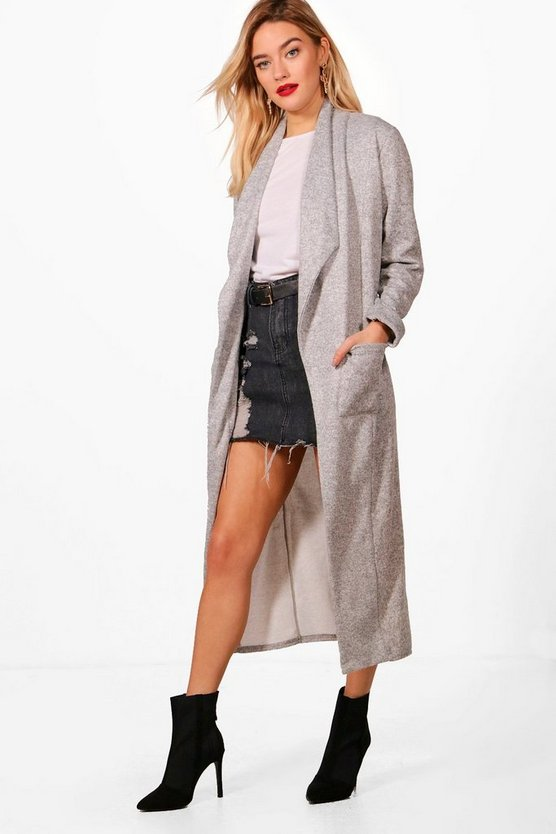 Jade Textured Marl Duster
