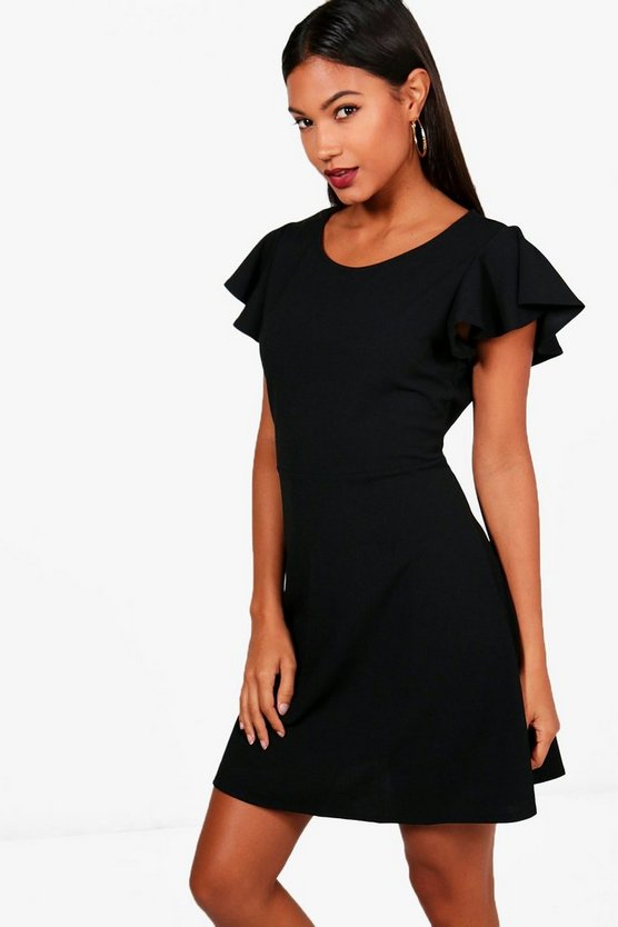 Emma Angel Sleeve Dress