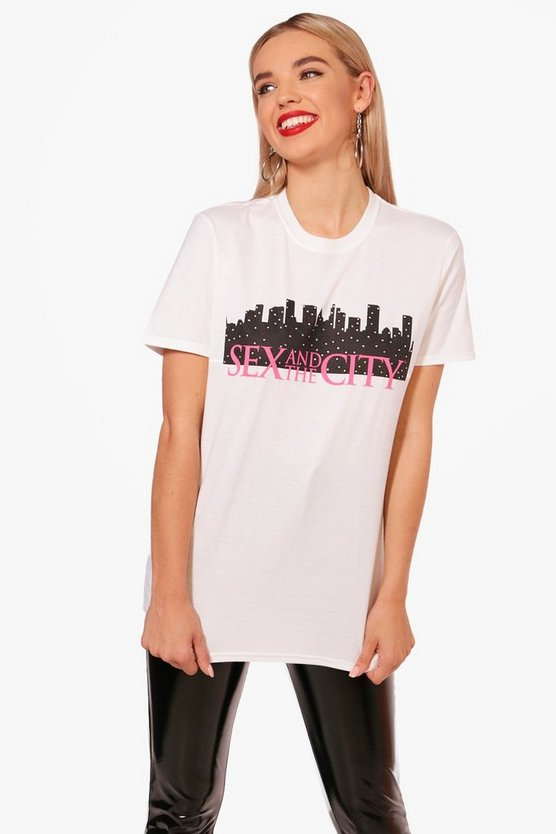 Sex And The City Embellished Tee